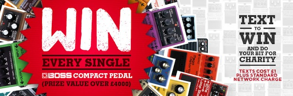 Boss Compact Pedals Competition