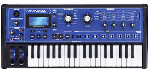 Novation MiniNova - Top Panel