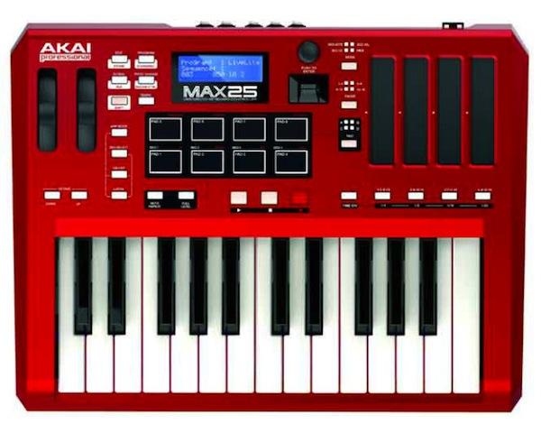 Akai MAX25 MIDI Keyboard
