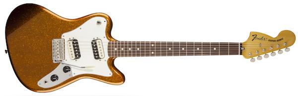 Fender Pawn Shop Super-Sonic Electric Guitar Sunfire Orange Flake