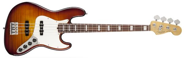 Fender Select Active Jazz Bass Tobacco Sunburst