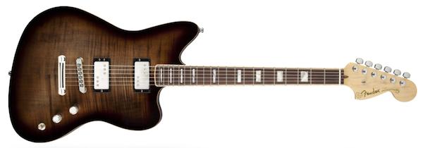 Fender Select Carved Maple Top Jazzmaster HH Twilight Burst