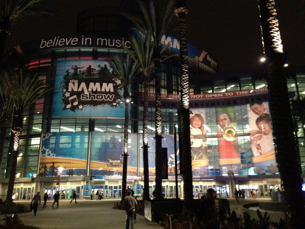 NAMM 2013 California