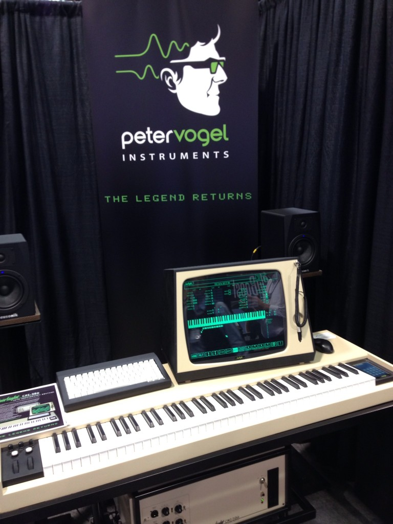 Peter Vogel Instruments & Fairlight CMI-30A