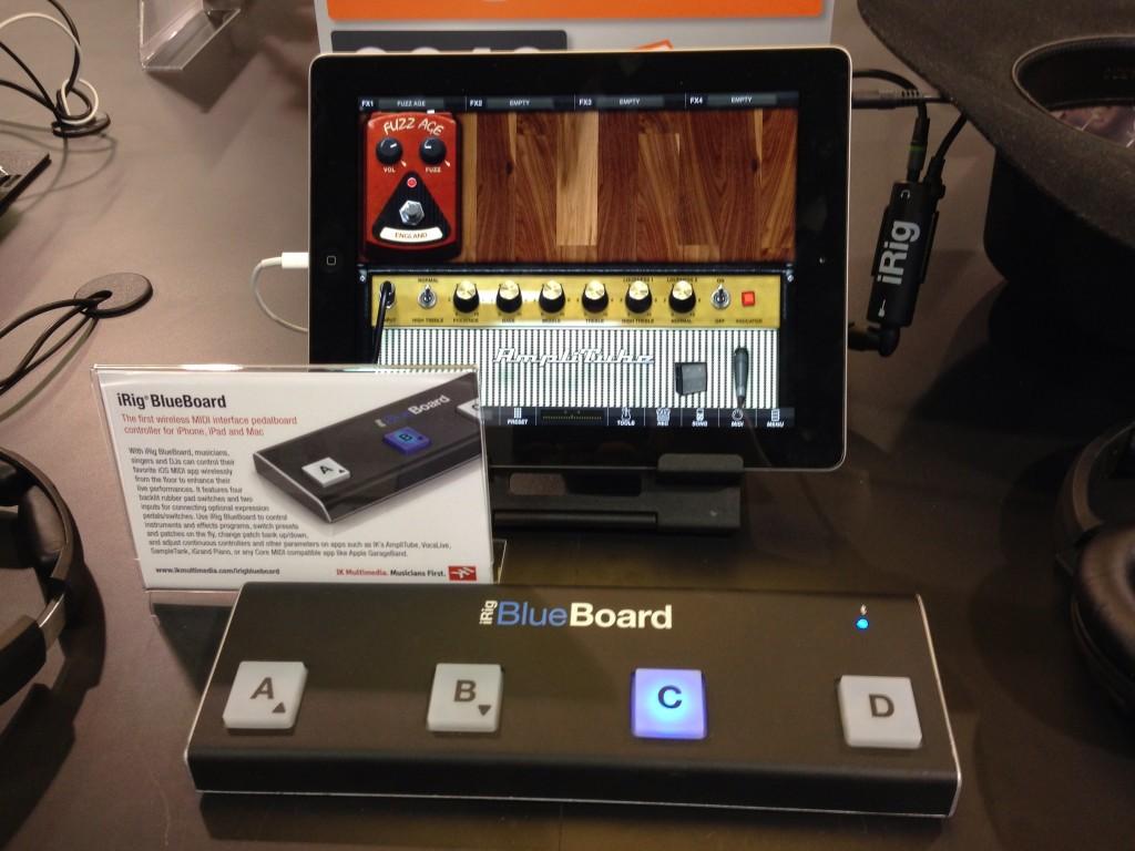 IK Multimedia iRig Blueboard Bluetooth Pedal