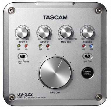 Tascam US-322 Audio Interface