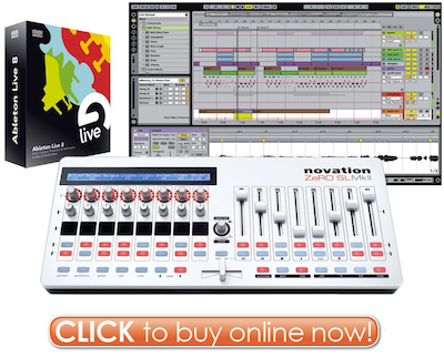 Click Here to Buy Ableton Live 8 Novation Zero SL MkII Controller Bundle