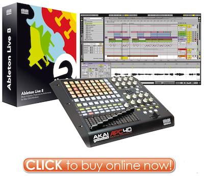 Click to Buy Ableton Live 8 Akai APC40 Controller Bundle