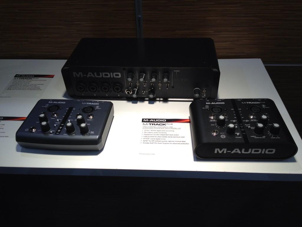 M-Audio M-Track, M-Track Quad, M-Track Plus Audio Interfaces