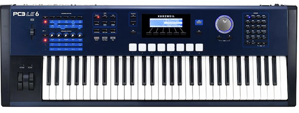 Kurzweil PC3LE6 Performance Controller Synthesiser - Front