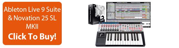 Click To Buy Ableton Live 9 Suite Novation 25 SL MkII Bundle
