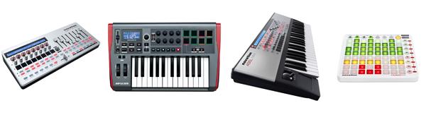 View Our Range Novation MIDI Controllers