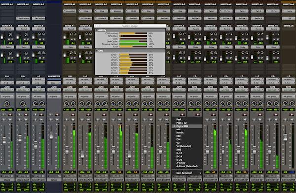 Avid Pro Tools 11 Screenshot
