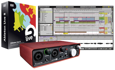 Ableton Live 9 with Focusrite Scarlett 2i2 Bundle