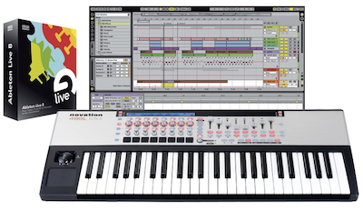 Ableton Live 9 with Novation 49 SL MkII Controller Keyboard