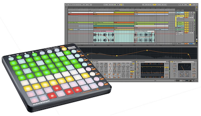 Ableton Live 9 with Novation Launchpad-S Bundle