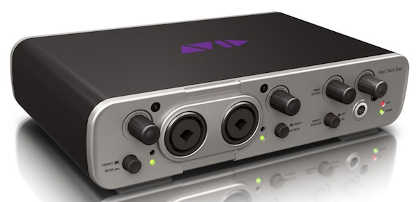 Avid Fast Track Duo Interface