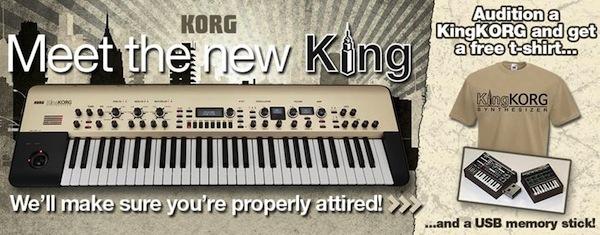 KingKORG Free T-Shirt and USB Stick Offer