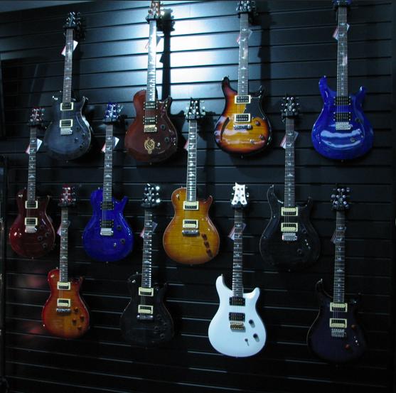 PRS SE Guitar Wall 2