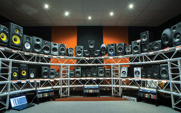 Absolute Music Monitor Auditioning Room