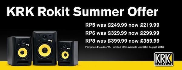 KRK Rokit Summer Offer