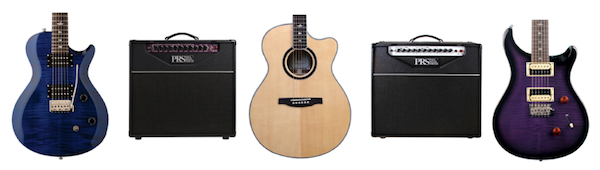 PRS SE Electric Guitars, Acoustic Guitars and Amps