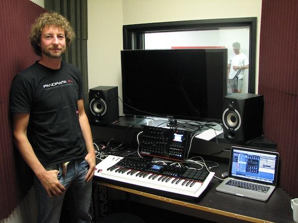 Tim Chandler with Nektar Panorama P1 and P4