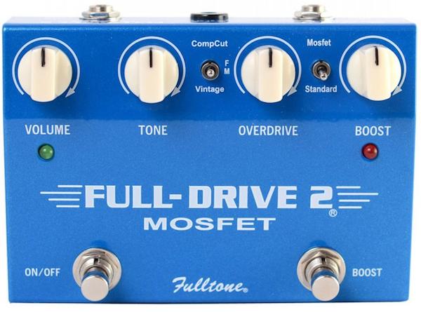 Fulltone FullDrive 2 MOSFET Overdrive Pedal - Top