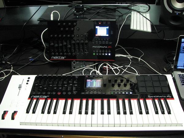 Nektar Panorama P1 and P4 Controllers