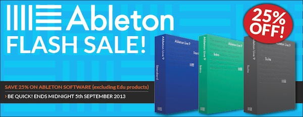 Ableton Flash Sale