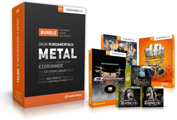 EZdrummer Drum Fundamentals - Metal