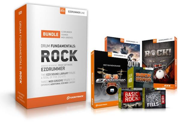 EZdrummer Drum Fundamentals - Rock