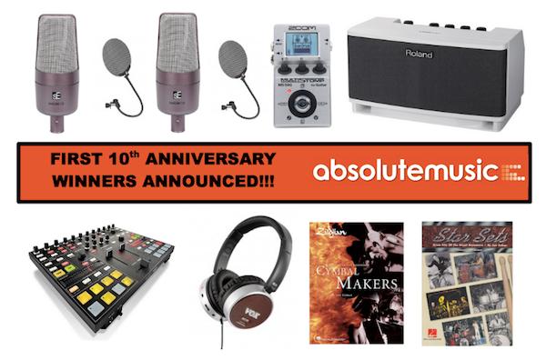 First 10th Anniversary Winners Announced