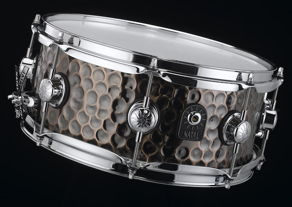 Natal Hand Hammered Copper Snare
