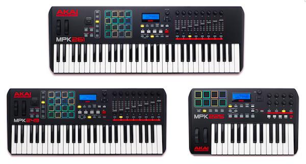 Akai MPK MIDI Keyboards