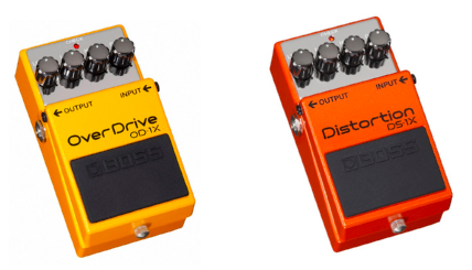 Boss OD-1X and DS-1X Pedals