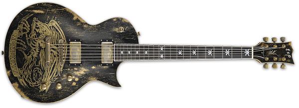 ESP Will Adler Warbird Dist Blk Guitar