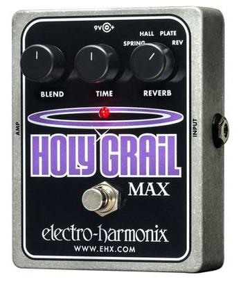 Electro Harmonix Holy Grail Max Pedal