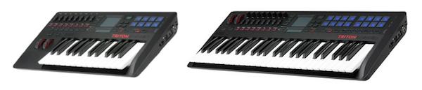Korg Triton Taktile Keyboards