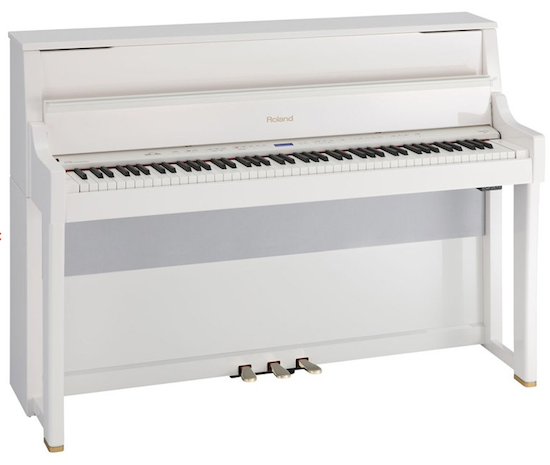 Roland LX-15e Digital Piano (Polished White)