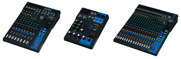 Yamaha MG Mixers