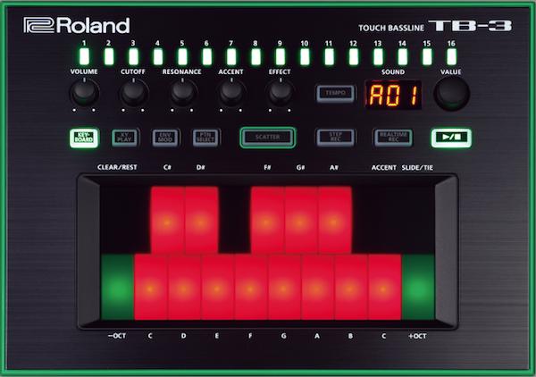 Roland TB-3 Front