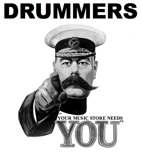 Your Music Store Needs You