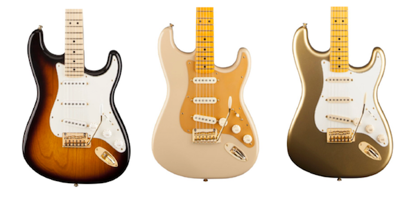 Fender 60th Anniversary Stratocasters