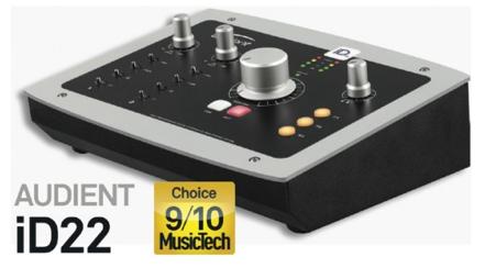 Audient iD22 MusicTech