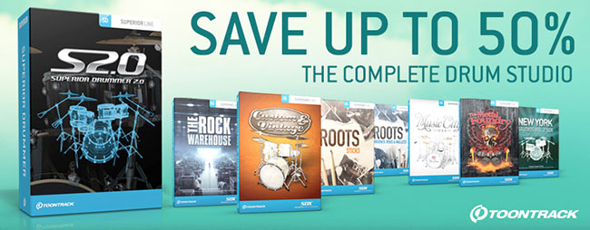 Toontrack Superior Drummer - Save Up To 50%