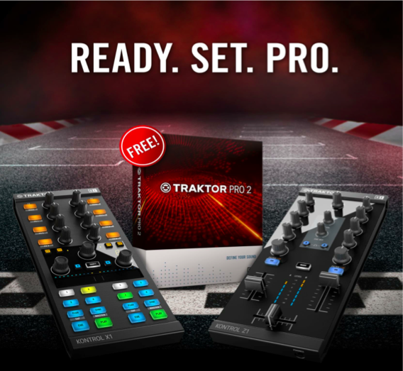 Traktor Pro 2 Free with X1 and Z1