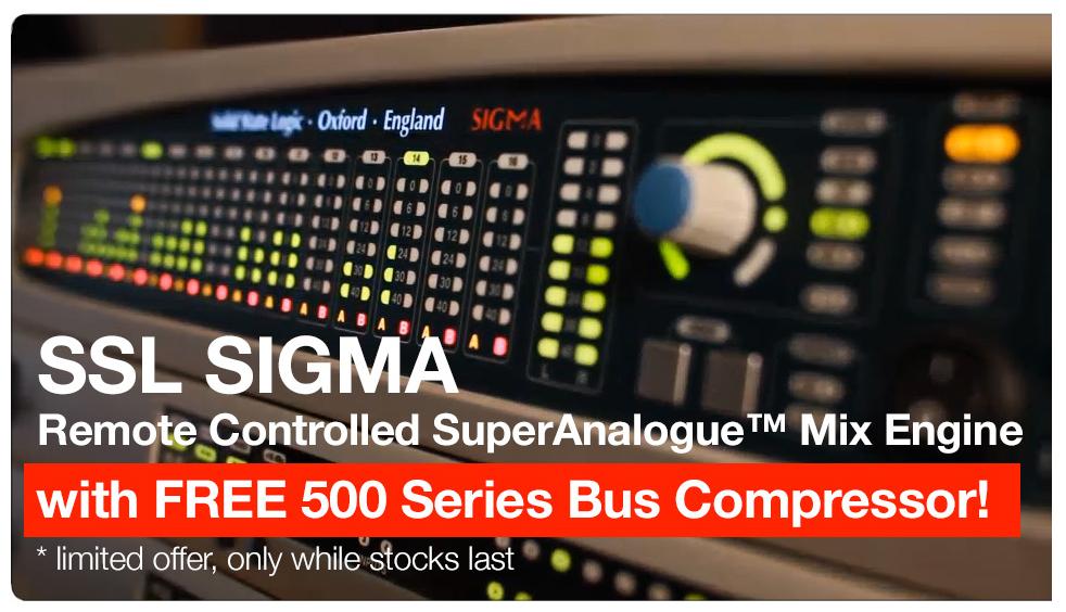 SSL sigma with free buss compressor