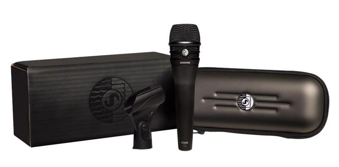 Shure KSM8 Dualdyne Handheld Dynamic Vocal Microphone, Black