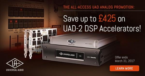 Save Big on UAD-2 DSP Accelerators
